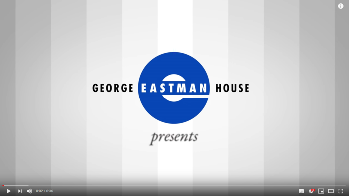 George Eastman House - Photographic Processes Series
