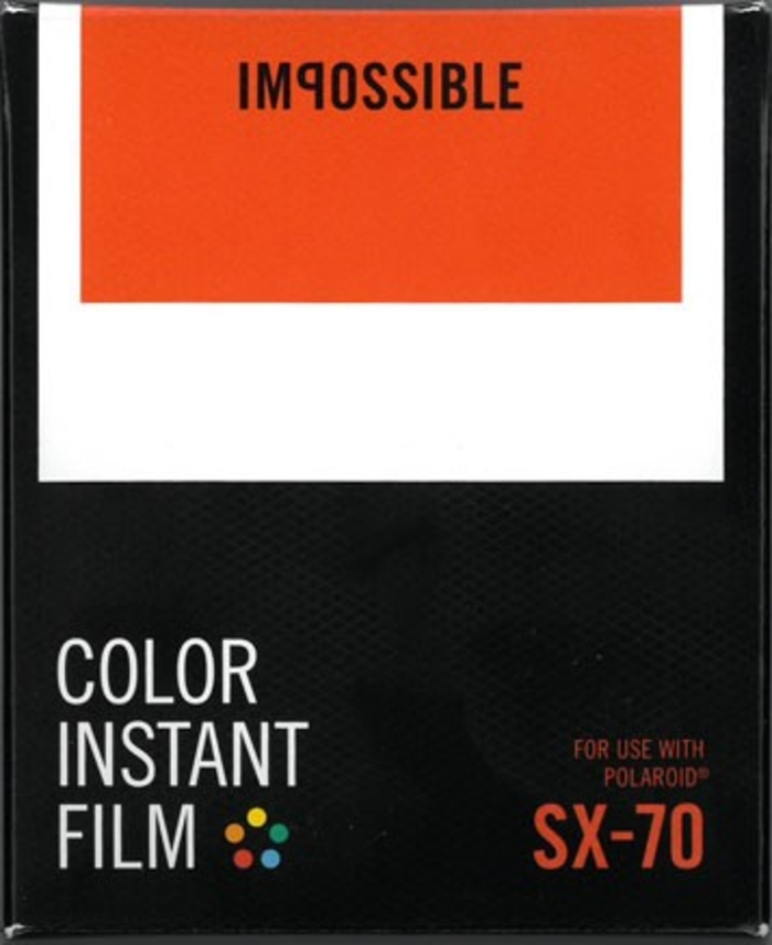 Impossible Project Polaroid Instant Film, fargefilm for SX-70.