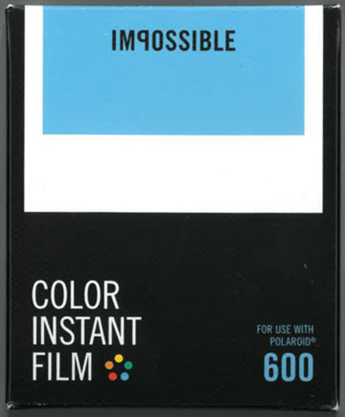 Impossible Project Polaroid Instant film farger for 600-kameraer