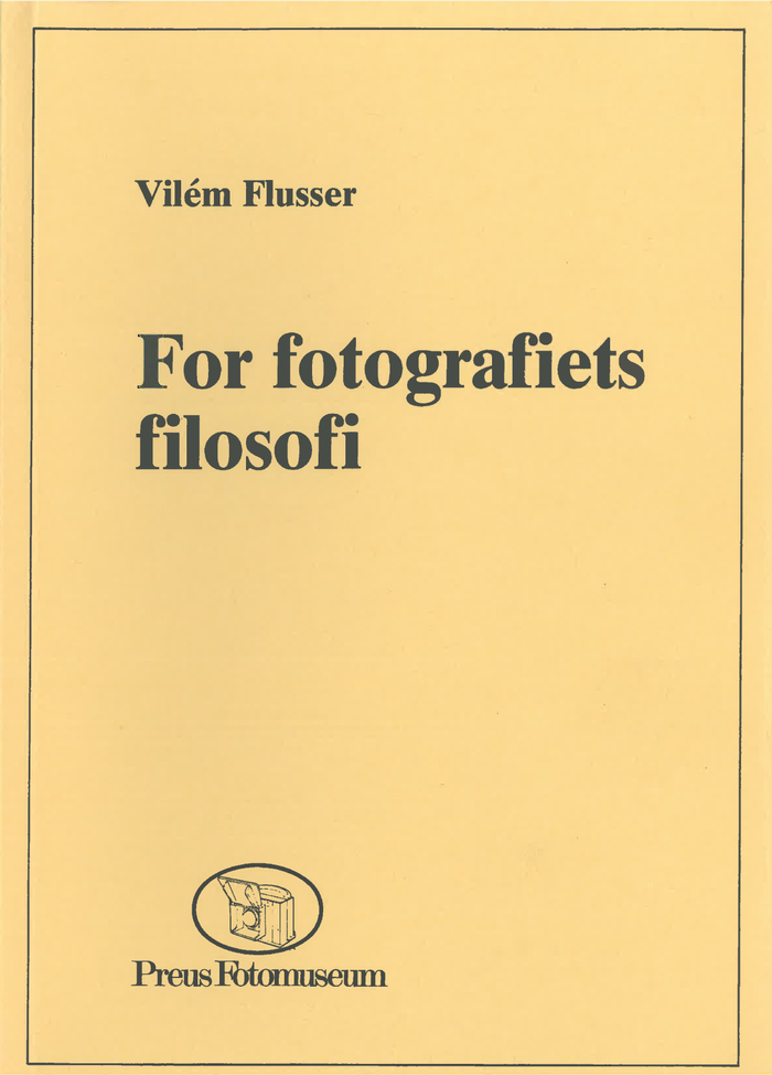For fotografiets filosofi