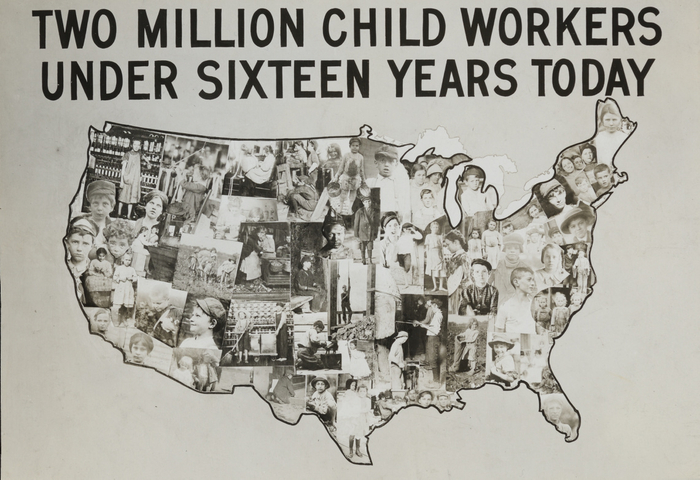 Two million child workers under sixteen today